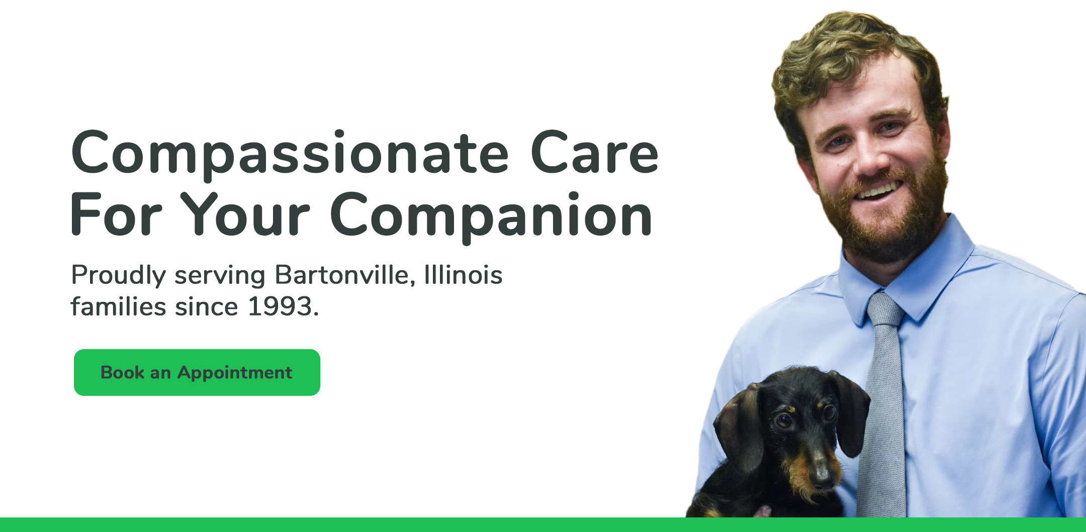 Compassionate Care For Your Companion. Proudly serving Bartonville Illinois families since 1993.
